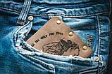 Чоловічий шкіряний гаманець ТатуНаКоже, життя, фото 8