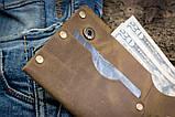 Чоловічий шкіряний гаманець ТатуНаКоже, Travel, фото 4