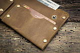 Чоловічий шкіряний гаманець ТатуНаКоже, Travel, фото 5