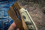 Чоловічий шкіряний гаманець ТатуНаКоже, Travel, фото 7