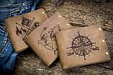 Чоловічий шкіряний гаманець ТатуНаКоже, Travel, фото 8
