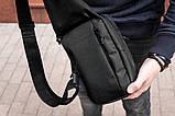 Сумка на грудь слинг mod.Police барыжка, фото 5