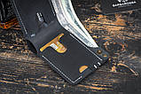Мужской кошелек mod.Harriz чёрный, фото 2