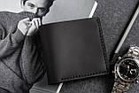 Мужское портмоне кошелек GENERAL чёрный, фото 2