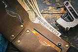 Чоловічий шкіряний гаманець ТатуНаКоже, stay wild, фото 5