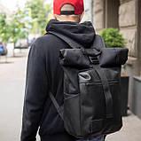 Рюкзак роллтоп чоловічий X-ROLL, фото 3