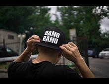 Снепбэк кепка мужская GANG BANG козырек