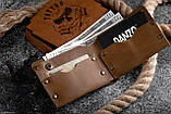 Мужской кожаный кошелек ТатуНаКоже, Во все тяжкие Хайзенберг, фото 3