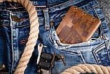 Мужской кожаный кошелек ТатуНаКоже, Во все тяжкие Хайзенберг, фото 4