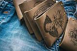 Чоловічий шкіряний гаманець ТатуНаКоже, Удачливий гаманець Lucky wallet, фото 5