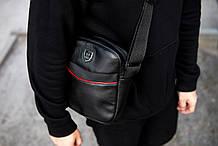 Мужская кожаная сумка через плечо Philipp Plein RV