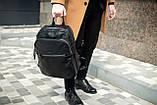 Рюкзак кожаный JHONNY LOCKER портфель, фото 5