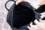 Рюкзак кожаный JHONNY LOCKER портфель, фото 8