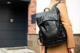 Рюкзак кожаный mod.PITBAG портфель, фото 2