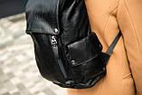 Рюкзак кожаный mod.PITBAG портфель, фото 7