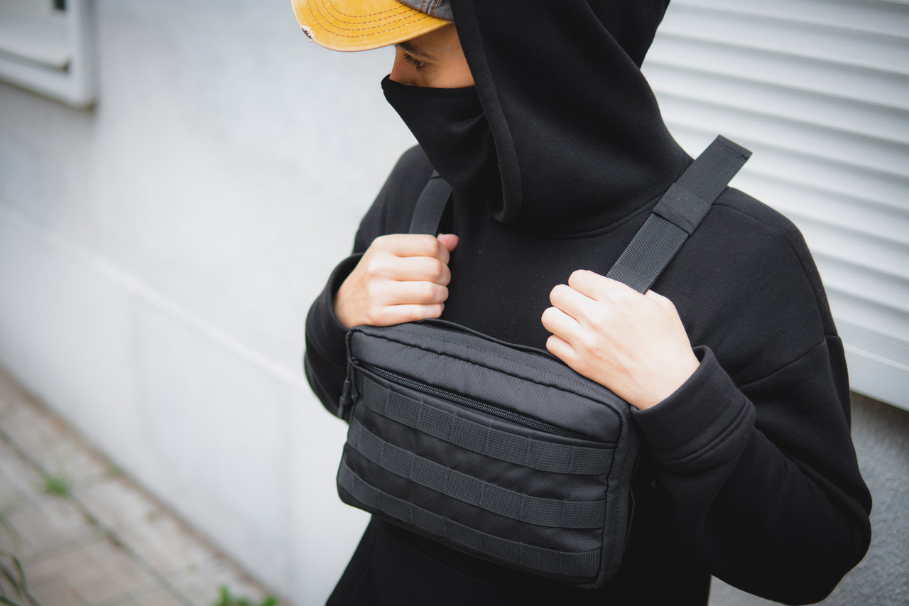 Сумка чест клунь mod.TECHBAG сумка жилет