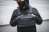 Сумка чест клунь mod.TECHBAG сумка жилет, фото 7