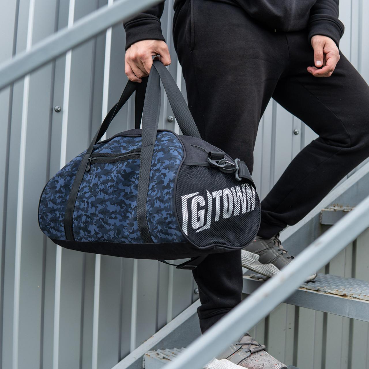 Мужская спортивная сумка G-TOWN синяя