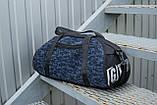 Мужская спортивная сумка G-TOWN синяя, фото 2