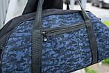 Мужская спортивная сумка G-TOWN синяя, фото 3