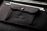 Портмоне клатч мужской Long Wallet MenStuff BLACK, фото 3