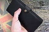 Портмоне клатч мужской Long Wallet MenStuff BLACK, фото 10