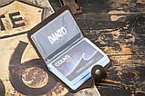 Визитница для кредитных карт mod.Drop коричневая, фото 4