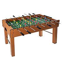 Настольный футбол деревянный 122х60х80 см игра кикер