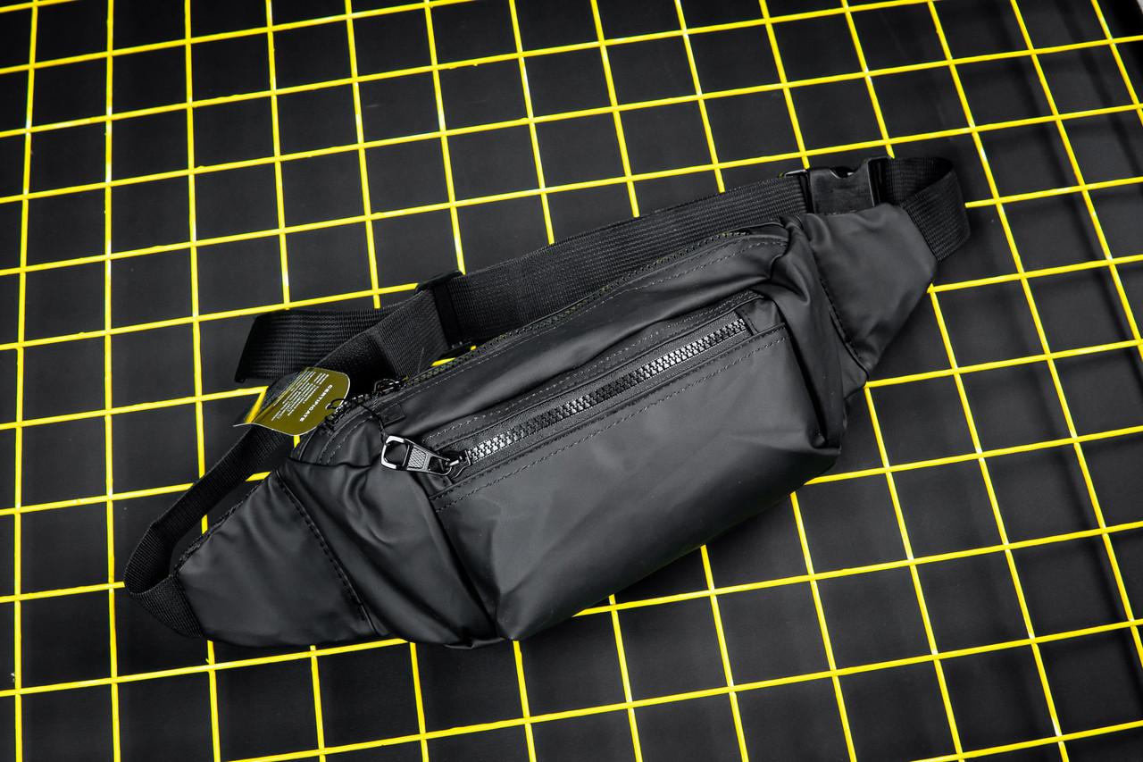 Поясная сумка бананка Splitfire черная