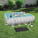 Солнечный нагреватель для бассейнов Bestway 58423 110 х 171 см, фото 3
