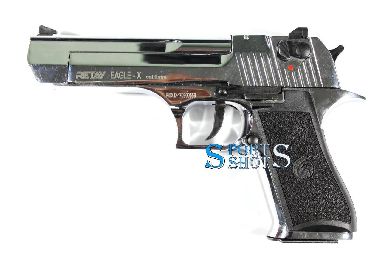Стартовый пистолет Retay Eagle X nickel
