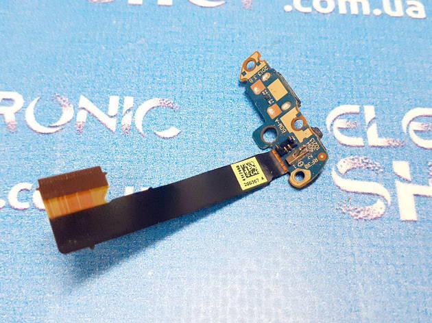 Шлейф з роз'ємом зарядки і мікрофоном HTC One M7 PN07710 оригінал б.у., фото 2