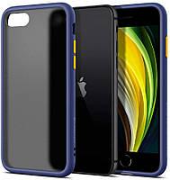 Чехол Spigen для iPhone SE(2020)/ iPhone 8/7 Ciel Color Brick, Navy (ACS00966)