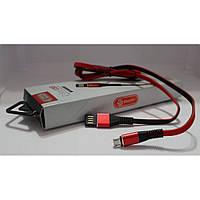 Кабель для USB пристроїв Soloffer CC03 V8, червоний, провід USB, шнур