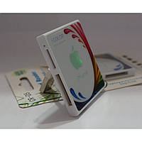 Картридер для считывания данных с карт памяти CR-05 icolor YC25-YC26 разноцветный, картридер для считывания