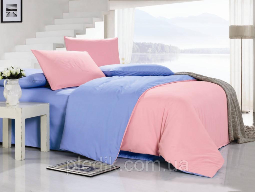 Однотонное постельное белье 200х220  Valtery софткоттон  MO-17