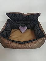Лежанка 60 х 50 см.Лежанка,Лежаки,лежак,лежак для кошки,лежак для собак,лежанка для собак,лежанка, фото 4