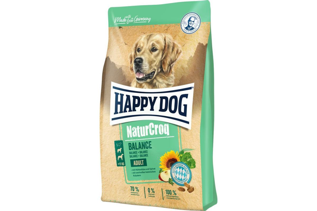 Корм Happy Dog Adult NaturCroq Balance 15 кг для взрослых собак с повышенной потребностью в энергии