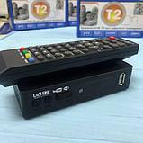 Цифровая телевизионная приставка Т2 Megogo эфирный тюнер DVB-Т2 ресивер DVB-T2, Wi-Fi, IPTV, USB, фото 2