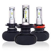 Автолампа S1 H4 Автолампа LED S1 H4 лампы автомобильные Headlight Car Lamp 8000lm 6500K 50W