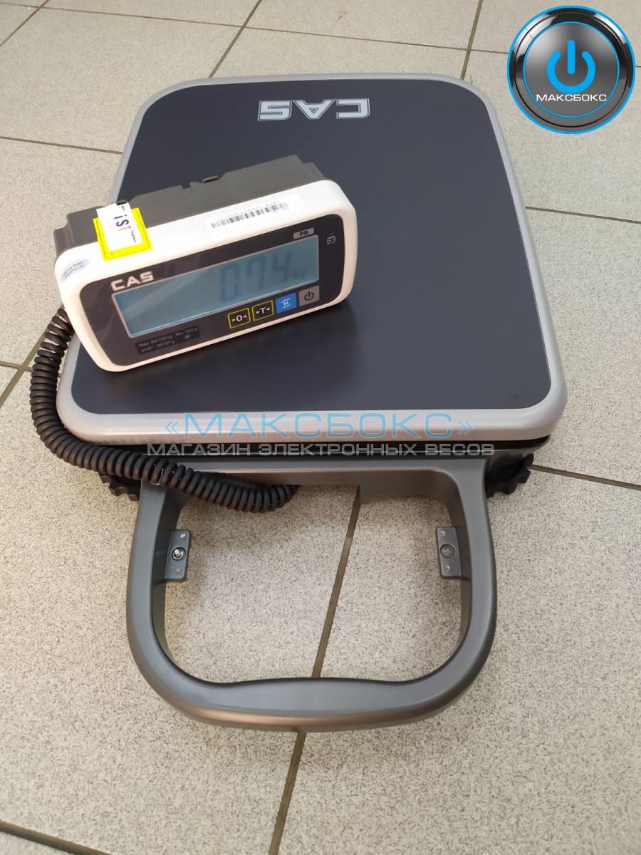 Весы напольные CAS PB 60 кг, 150 кг