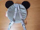Дитячий рюкзак для дитячого садка Міккі Маус 28см, фото 2