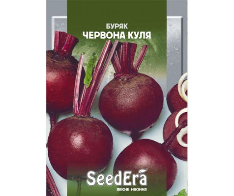 Семена свекла КРАСНЫЙ ШАР 10 Г SeedEra