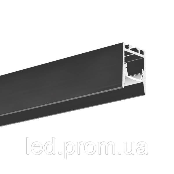 LED-профиль KLUS PDS-ZMG черный