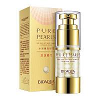 Крем для кожи вокруг глаз с экстрактом жемчуга BIOAQUA Pure Pearls Essentials Eye Serum (25 мл)