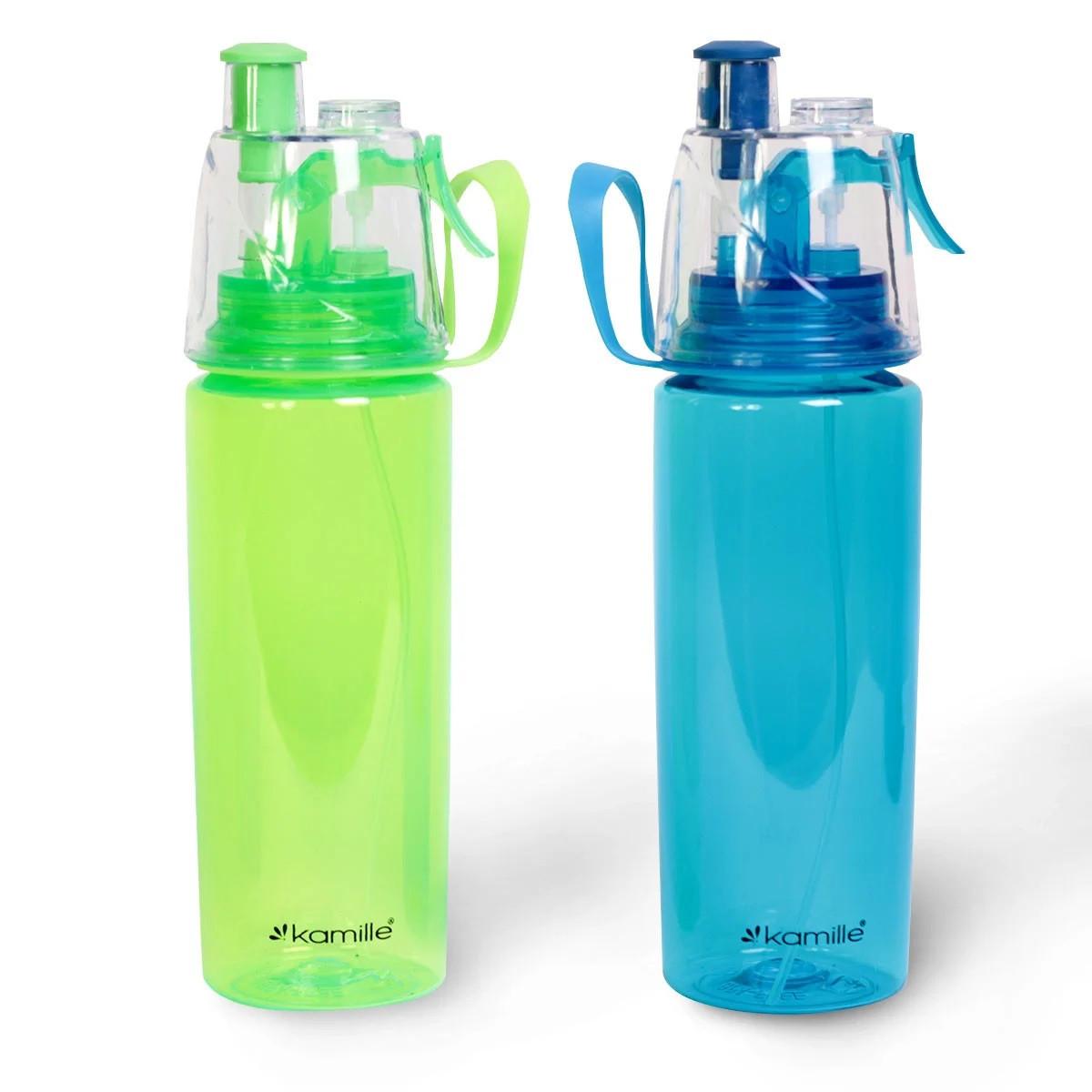 Спортивна пляшка для води пластикова 570 мл