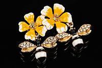 Декоративная брошь для одежды, аксессуаров в форме пчелок в цветах Sammer брошь для украшения, броши насекомые, фото 1