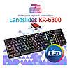 Клавіатура HK-6300 TZ + мишка - ігровий комплект дротова клавіатура для ПК з кольоровою RGB підсвіткою + миша, фото 6