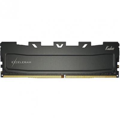 Модуль памяти для компьютера DDR4 16GB 3200 MHz Black Kudos eXceleram (EKBLACK4163216C)
