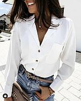 Рубашка женская молодежная с 42 по 54 р. СЕР1289, фото 1